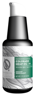 QuickSilver Scientific Nanoemulsified Colorado Hemp Oil Bottle