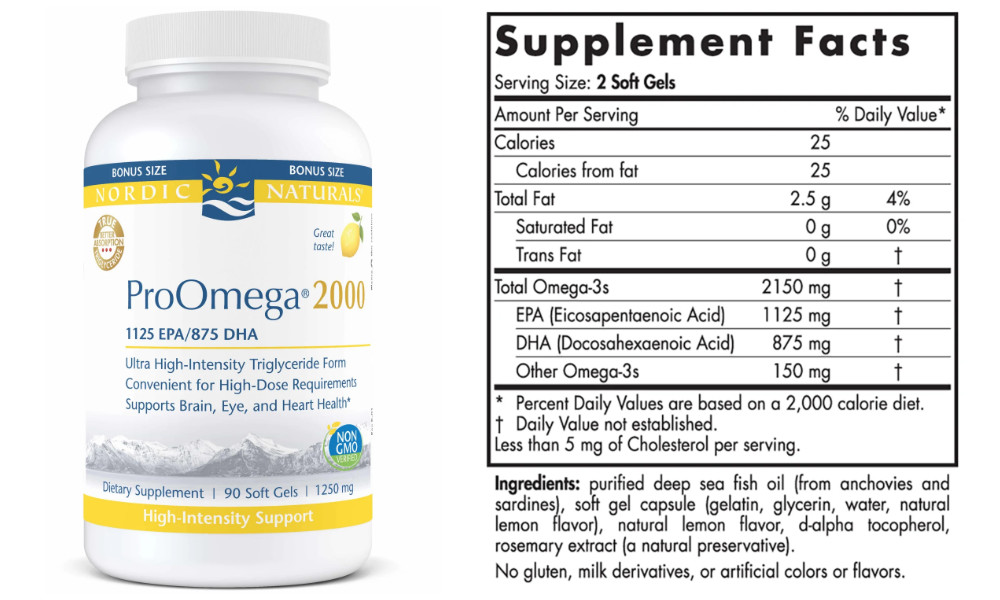7 Reasons to Opt For Nordic Naturals ProOmega 2000 Fish Oil
