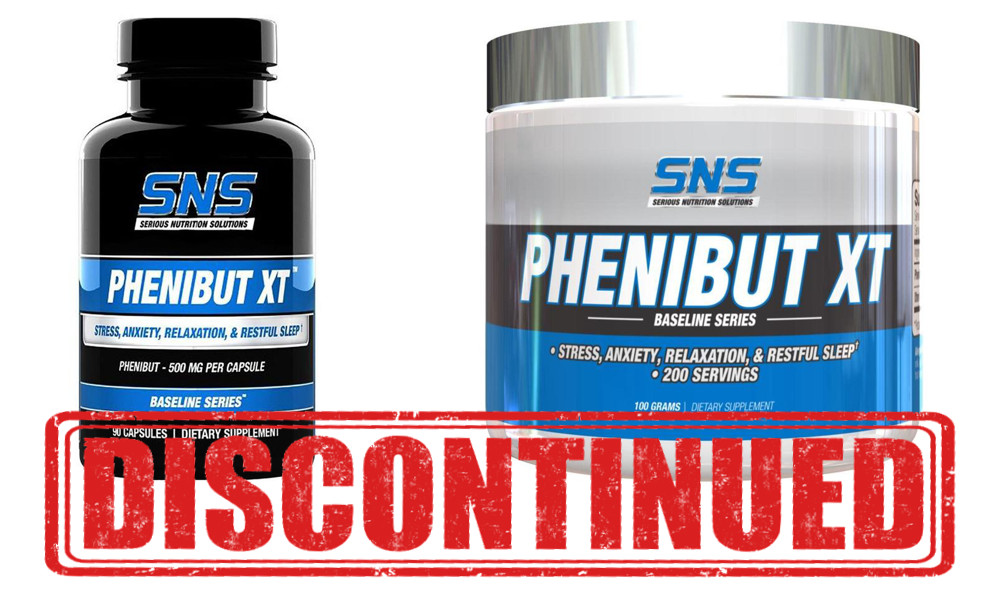 SNS Phenibut XT Capsules and Powder