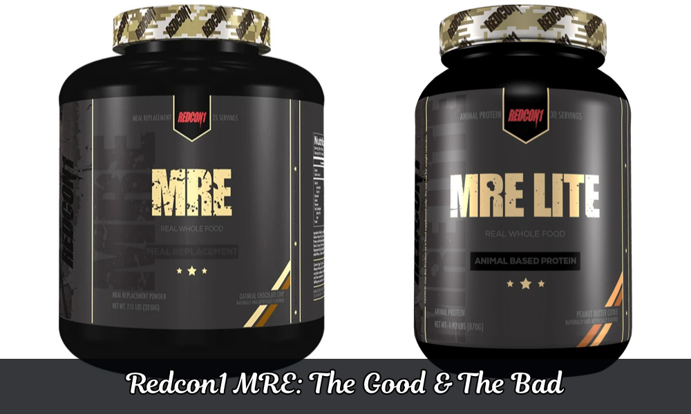 Redcon1 MRE Review: One Thing I Didn't Really Like!