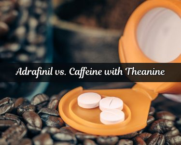 Adrafinil vs. Caffeine with Theanine
