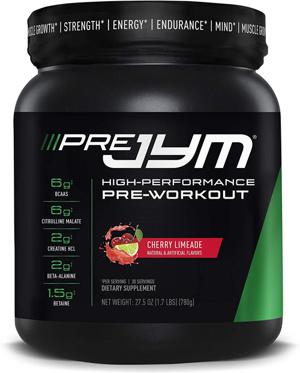 Pre JYM Pre-Workout Supplement