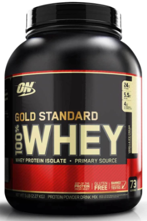 Optimum Nutrition Gold Standard Whey Protein (5lb tub)