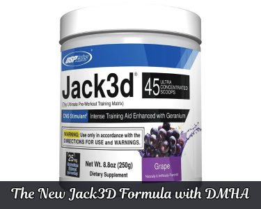 New Jack3D Formula with DMHA