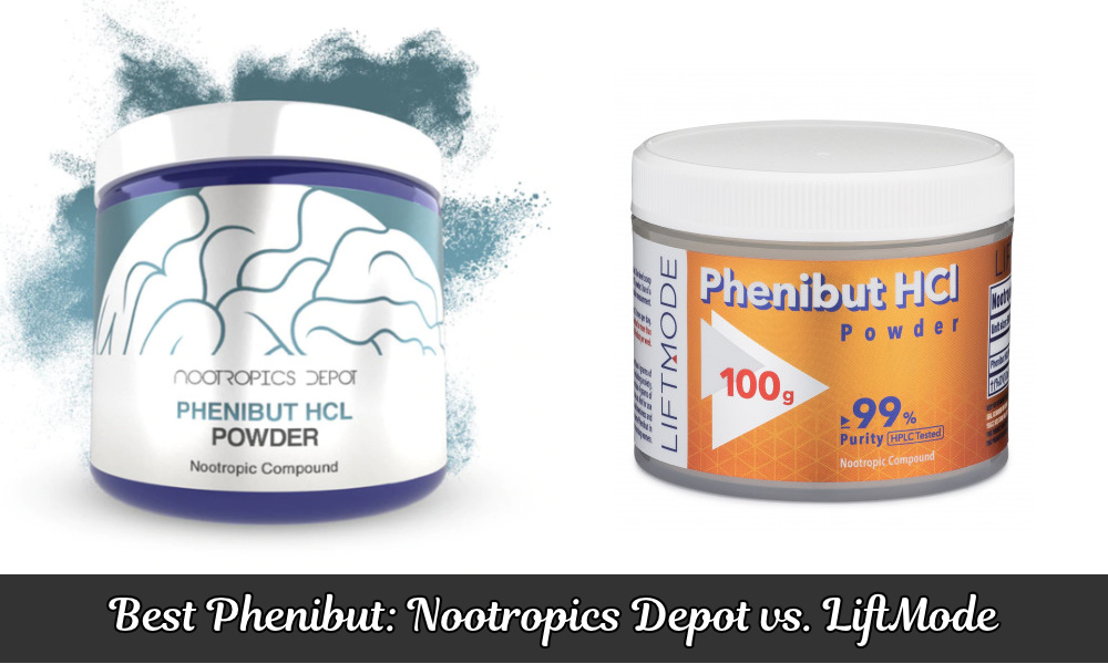 Best Phenibut: Nootropics Depot vs. Liftmode